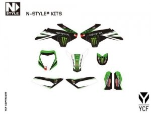 Grafik Kit YCF 50A / 50E n-style Monster Pro Circuit KD15NS-50-GREEN