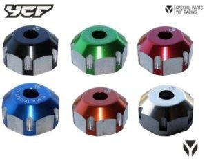 YCF CNC Aluminium Steuerkopfmutter eloxiert ECD-