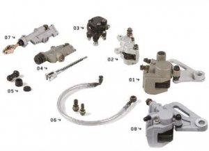 YCF Ersatzteile Hinterradbremse