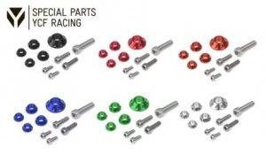 YCF CNC Aluminium Schrauben/Scheiben Kit für Plastik und Tank KRV-