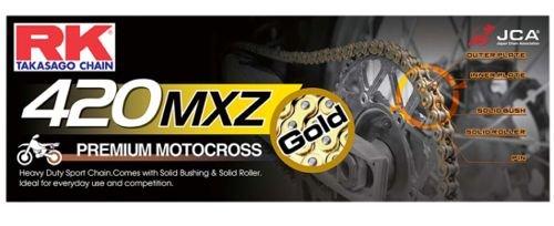 RK Kette 420 MXZ Heavy Duty Gold RK420MXZ