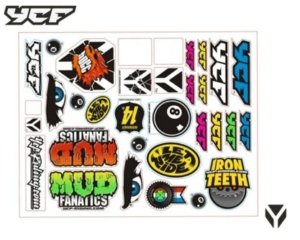 YCF LOGO STICKER KIT STSVYCF
