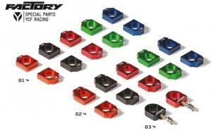 YCF CNC Alu Kettenspanner Block TC-, TC07-, TC12-
