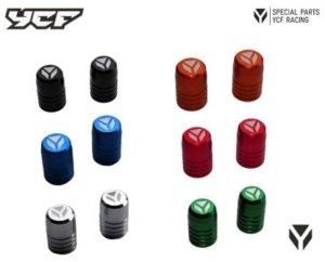 YCF CNC Aluminum Ventilkappen (2Stück) TVC-
