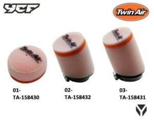 Twin Air Racing Luftfilter TA-158430 | TA-158431 | TA-158432