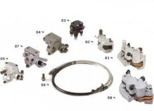 YCF Ersatzteile Vorderradbremsen