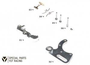 YCF Bremsen Zubehör und Ersatzteile für Radial Racing Bremse