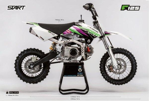 2021 YCF START F125 Pitbike