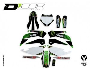 D'COR MONSTER ENERGY GRAPHIC KIT PILOT-FACTORY 20-90-106