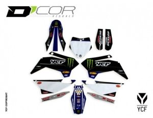 D'COR STAR RACING GRAPHIC KIT PILOT-FACTORY 20-90-108