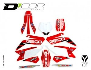 D'COR GEICO GRAPHIC KIT BIGY-FACTORY 20-90-110