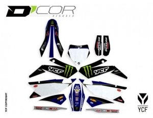 D'COR STAR RACING GRAPHIC KIT BIGY-FACTORY 20-90-111