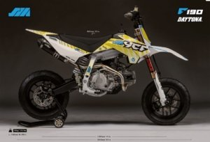 2021 YCF SM190 Daytona Anima Supermoto Racing