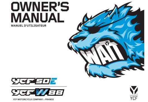 YCF 50E / W88 Manual 2021
